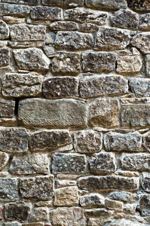 background stone wall texture. antique building detail Stock Photo