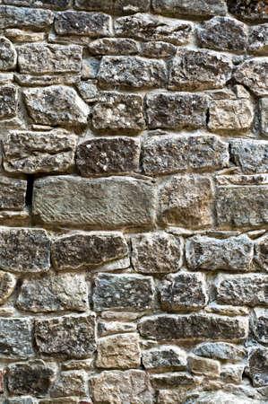 background stone wall texture. antique building detail Standard-Bild