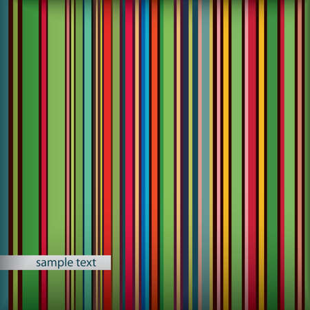 Abstract retro striped background. Vintage stripes pattern  Vector
