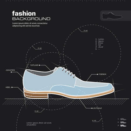 Shoe design Stock Vector - 15867191