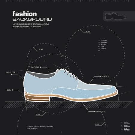 shoe print: Shoe design