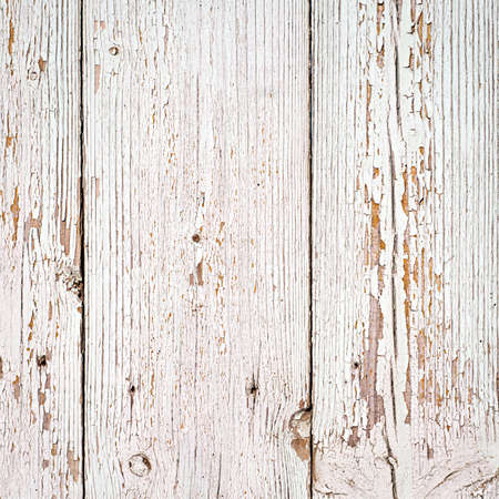 white wood texture background. old wood planks painted with white color Standard-Bild