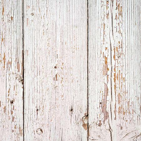 weißes Holz Textur Hintergrund. alten Holzplanken mit weißer Farbe lackiert