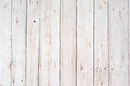 white wood texture background. old wood planks painted with white color Banque d'images