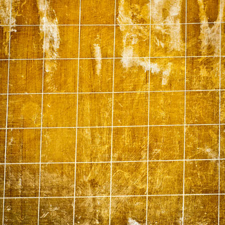 scuffed: Wood floor with dotted line grid. Wood texture rich in detail.