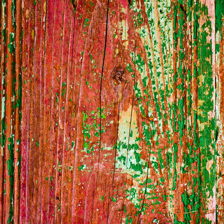 Old painted wood texture closeup background Stock Photo