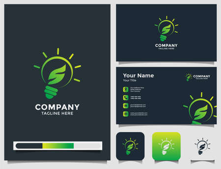 smart nature with business  card Çizim