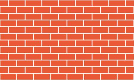 Seamless texture. Brick wall. Vector illustration.