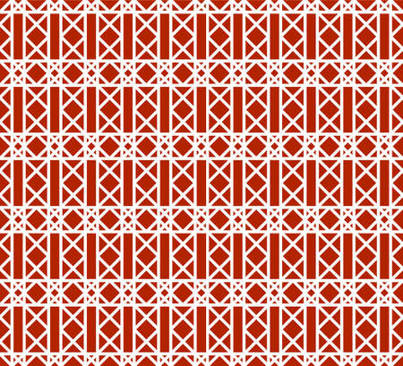 Geometric tile pattern in repeat. Seamless background, mosaic ornament in Arabic style. Mosaic texture for textile, clown, carpeting, warp, book cover, clothes. Illustration