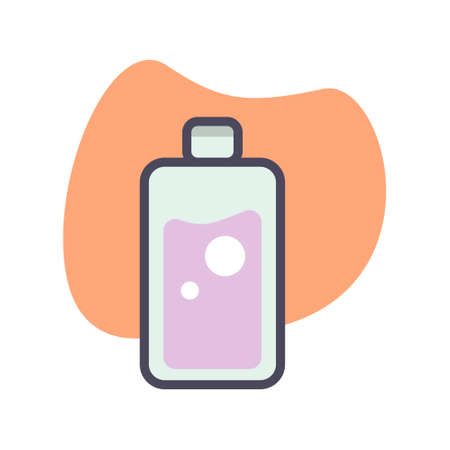 Simple bottle flat icon design illustration, Can be used for many purpose.
