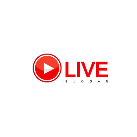 Live Steam Design Vector, Logo TV Logo