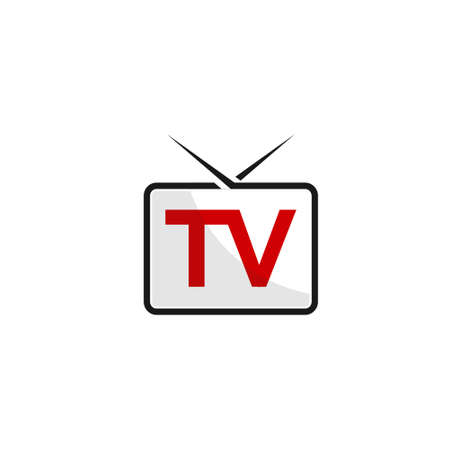 Media And TV Logo Design Vector