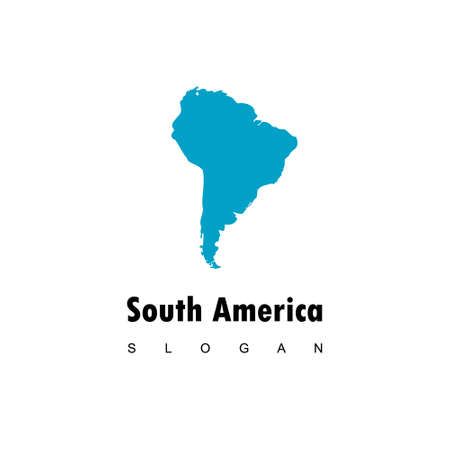 Map Of South America  Design Vector