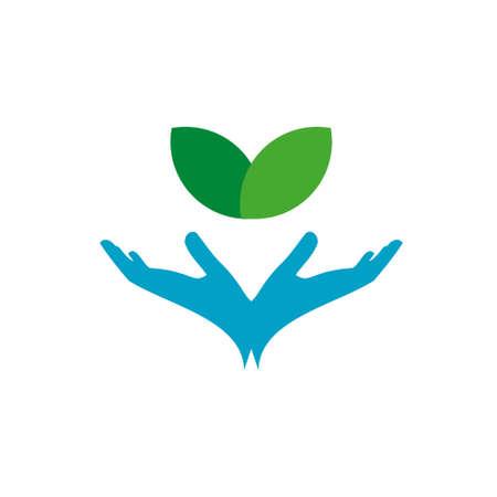 Green Hand Logo