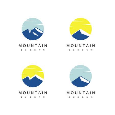 Mountain Logo Design Vector 向量圖像