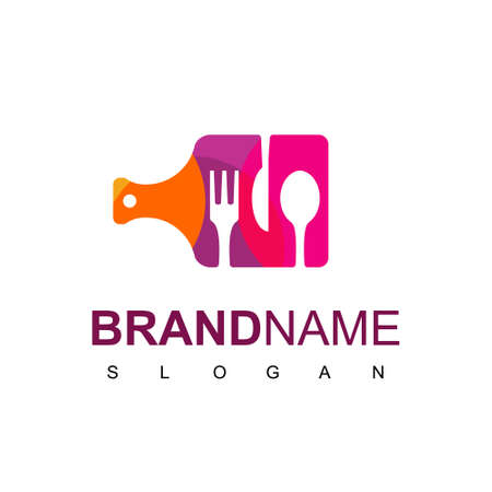 Cooking Logo Design Template Isolated On White Background