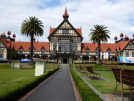 Old Building Bathhouse, Rotorua museum new zealand