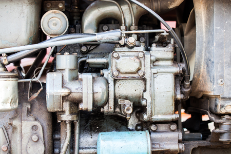 cam gear: part of old car engine