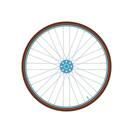 icono de la ciudad en bicicleta.
