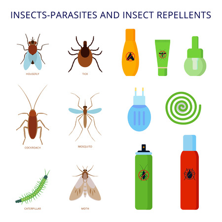 Insects-parasites and pests.