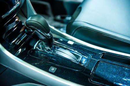 Auto gear lever Фото со стока