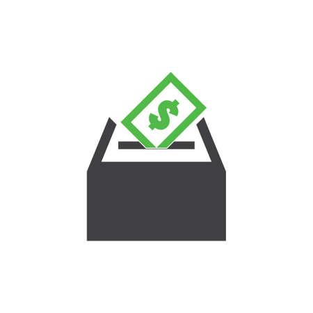 money card insert box symbol vector Ilustração