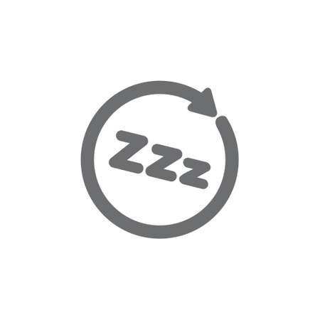 zzz sleep process symbol decoration vector