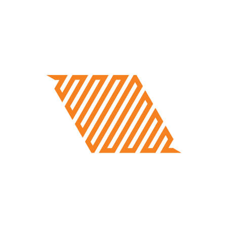 rectangle stripes geometric linear logo