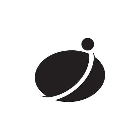 circle geometric motion global business logo Ilustração