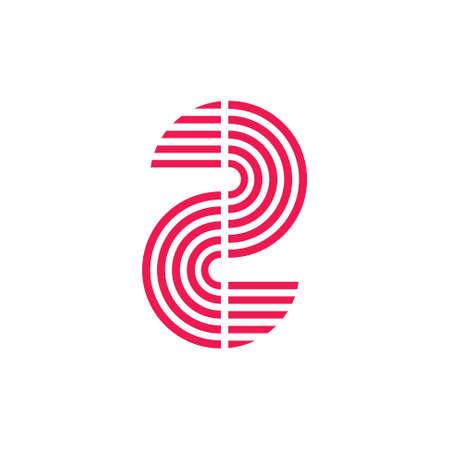 stripes fingerprint curves abstract symbol vector
