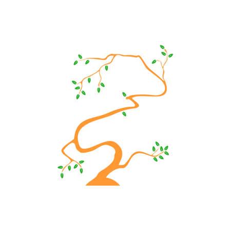 symbol vector of simple tree hand drawn design Foto de archivo - 138513504