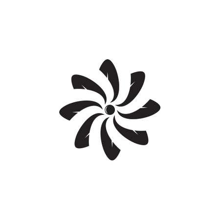 symbol vector of swirl object geometric motion design Foto de archivo - 138514679
