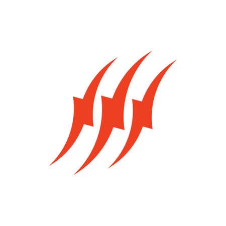 curves geometric power symbol logo vector Foto de archivo - 138520145