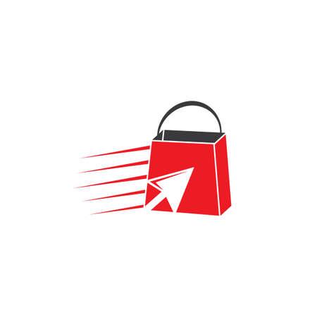 online shopping flash sale symbol vector