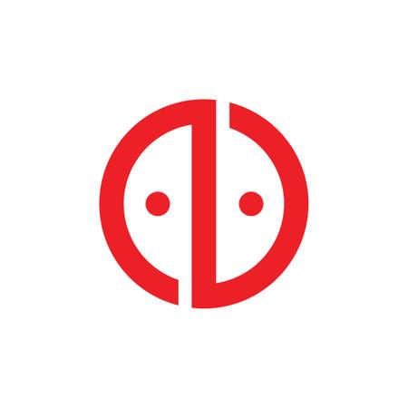 letter n furniture geometric logo vector