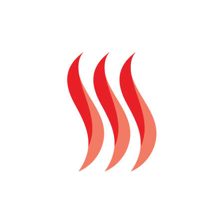 curves abstarct flow smoke logo vector Stock Illustratie