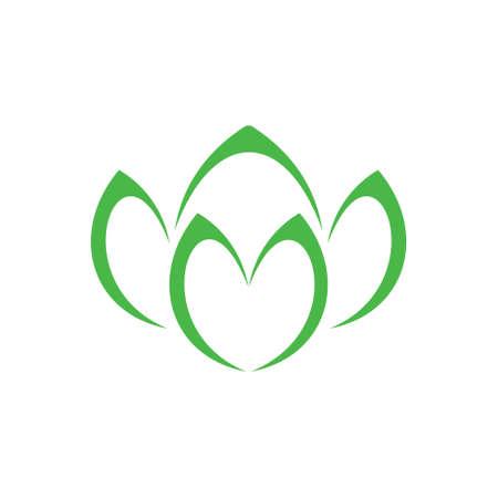 green vegetable symbol vector Ilustrace
