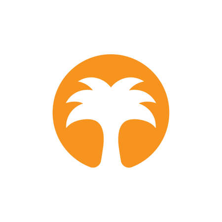 dates palm middle east logo vector
