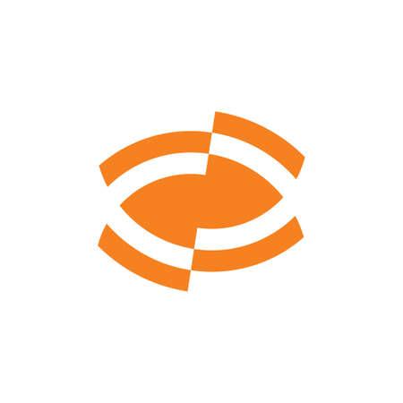 unseen eye geometric symbol vector Vektoros illusztráció