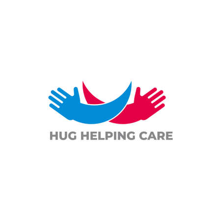 hug hand care motion design symbol vector 写真素材 - 149769418