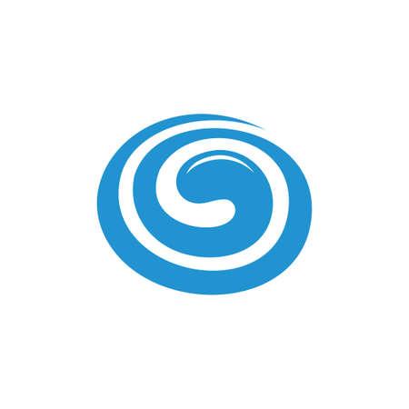 vector of curves spiral shape sweet jam symbol Векторная Иллюстрация