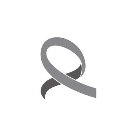 ribbon motion 3d design vector fit for logo decoration