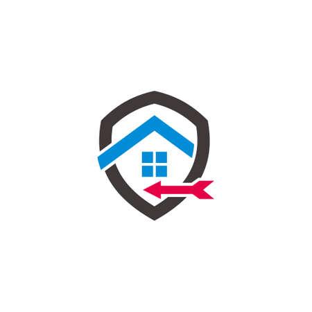 home target sale symbol, simple geometric line design vector