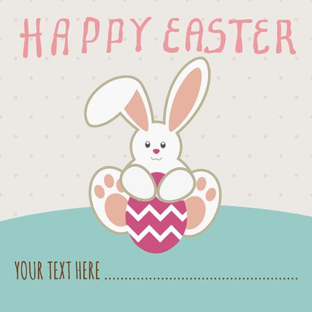 Heb zelf een zeer gelukkige Pasen de Oren Stockfoto - 54018412