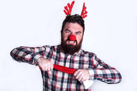 santa's helper: angry santas helper
