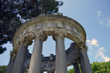 in columns: Columns in the park Editorial
