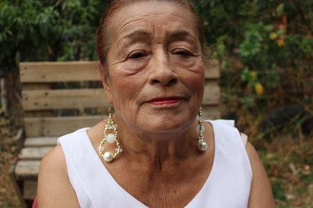 Senior mexican woman