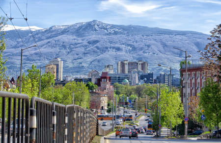 Sofia - the town at the foot of Vitosha mountain