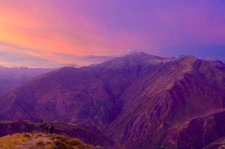 canyons: Colca canyon is one of the deepest canyons in the world.