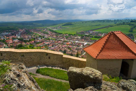 bird       s house: Rupea is one of the oldest citadels in Romania.
